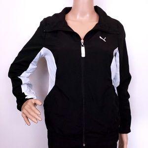 Puma Women Sweatshirt Full Zip Jacket  Size S